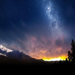 Landscape dusk iPad / Air / mini / Pro Wallpaper