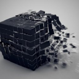 Cool explosion black iPad / Air / mini / Pro Wallpaper