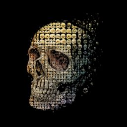 Cool skeleton iPad / Air / mini / Pro Wallpaper