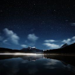 Landscape night iPad / Air / mini / Pro Wallpaper