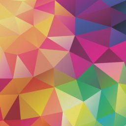 Pattern yellow red purple green iPad / Air / mini / Pro Wallpaper