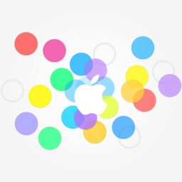 apple logo colorful iPad / Air / mini / Pro Wallpaper