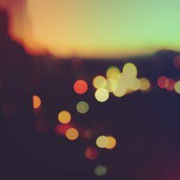Landscape colorful blur iPad / Air / mini / Pro Wallpaper