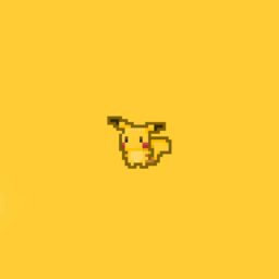 Pikachu game yellow iPad / Air / mini / Pro Wallpaper