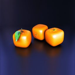 Mandarin fruit iPad / Air / mini / Pro Wallpaper