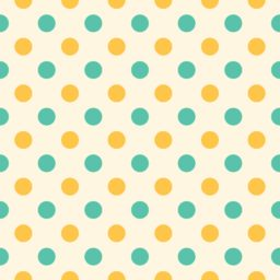 Yellow polka dot green iPad / Air / mini / Pro Wallpaper