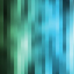 Pattern blue green cool blur iPad / Air / mini / Pro Wallpaper