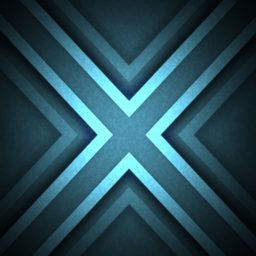 Pattern illustration blue cool iPad / Air / mini / Pro Wallpaper
