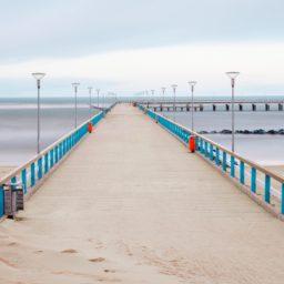Landscape Bridge sea iPad / Air / mini / Pro Wallpaper