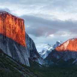 Landscape mountain El Capitan iPad / Air / mini / Pro Wallpaper