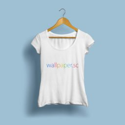 wallpaper.sc T-shirt light blue iPad / Air / mini / Pro Wallpaper
