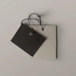 Ash paper tag iPad / Air / mini / Pro Wallpaper