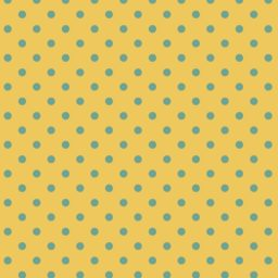 Pattern polka dot yellow iPad / Air / mini / Pro Wallpaper