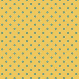 Pattern polka dot yellow iPad / Air / mini / Pro Wallpaper