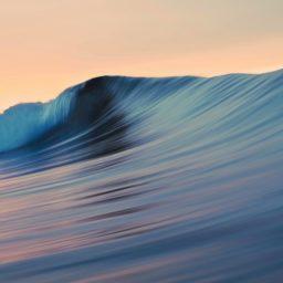 Landscape sea surf Mavericks Cool iPad / Air / mini / Pro Wallpaper
