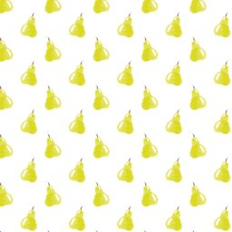 Pattern illustration fruit yellow women-friendly iPad / Air / mini / Pro Wallpaper