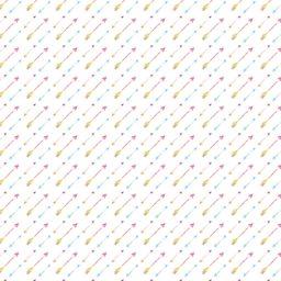 Pattern arrow diagonal colorful women-friendly iPad / Air / mini / Pro Wallpaper