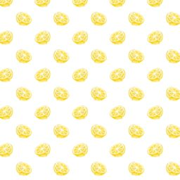Pattern illustration fruit lemon yellow women for iPad / Air / mini / Pro Wallpaper
