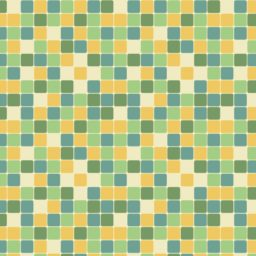 Pattern square blue green yellow iPad / Air / mini / Pro Wallpaper
