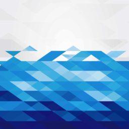 Pattern white blue cool iPad / Air / mini / Pro Wallpaper