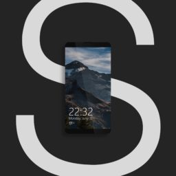 Smartphone black cool iPad / Air / mini / Pro Wallpaper