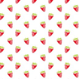 Pattern illustration fruit strawberry red women-friendly iPad / Air / mini / Pro Wallpaper