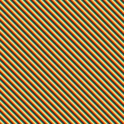 Diagonal stripe colorful iPad / Air / mini / Pro Wallpaper