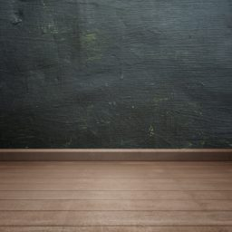 Black wall floorboards brown iPad / Air / mini / Pro Wallpaper
