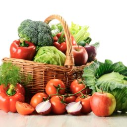 Vegetable Food red green colorful iPad / Air / mini / Pro Wallpaper