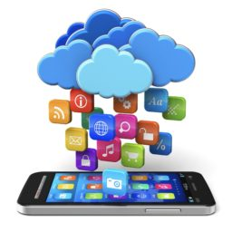 iPhone smartphone cloud colorful iPad / Air / mini / Pro Wallpaper