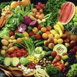 Vegetables colorful green food iPad / Air / mini / Pro Wallpaper