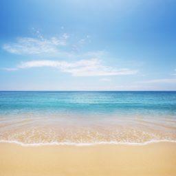 Air-sea landscape blue iPad / Air / mini / Pro Wallpaper