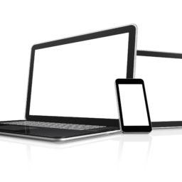PC Sumaho black-and-white iPad / Air / mini / Pro Wallpaper