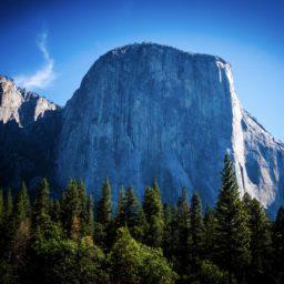 Landscape cliff iPad / Air / mini / Pro Wallpaper
