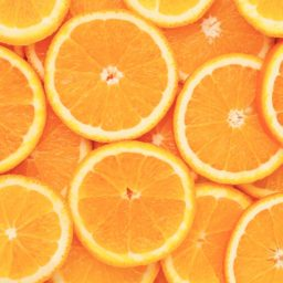 Food women for Orange iPad / Air / mini / Pro Wallpaper