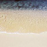 Landscape sand sea