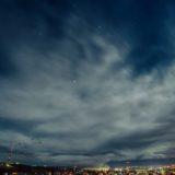 Scenery night sky