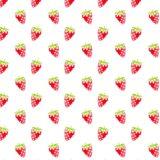 Pattern illustration fruit strawberry red women-friendly