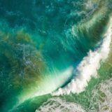 iOS10 sea wave blue
