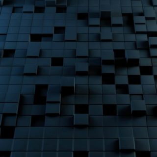 Pattern block black iPhone4s Wallpaper