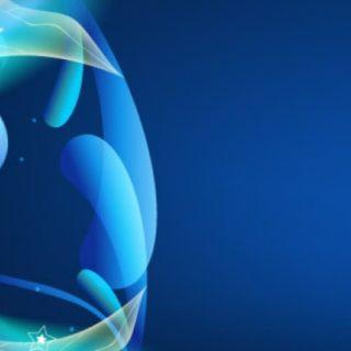 Pattern blue iPhone4s Wallpaper