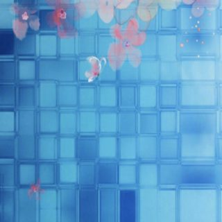 Flower tile iPhone5s / iPhone5c / iPhone5 Wallpaper