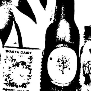 Bottle Black and White iPhone5s / iPhone5c / iPhone5 Wallpaper