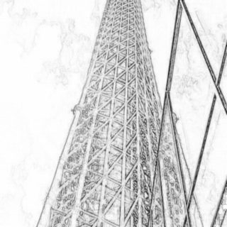tower iPhone5s / iPhone5c / iPhone5 Wallpaper