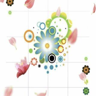 Flower cute iPhone5s / iPhone5c / iPhone5 Wallpaper