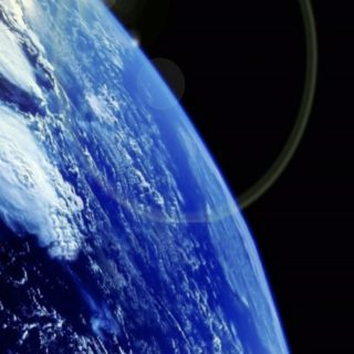 Earth Space iPhone5s / iPhone5c / iPhone5 Wallpaper