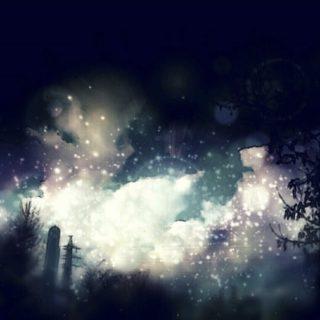 Landscape light iPhone5s / iPhone5c / iPhone5 Wallpaper