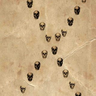 Skull iPhone5s / iPhone5c / iPhone5 Wallpaper