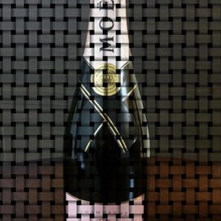 Moet et Chandon Mesh iPhone5s / iPhone5c / iPhone5 Wallpaper