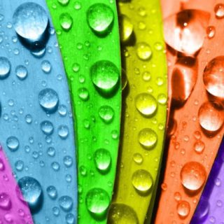 Cool water droplets iPhone5s / iPhone5c / iPhone5 Wallpaper